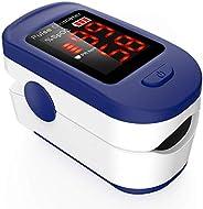 Oxímetro de Pulso, AGPTEK Pulsioxímetro de Dedo Digital con Pantalla LED para Medición de SpO2, Lectura Instan