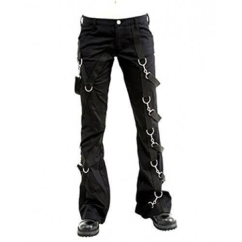 Aderlass Cross Pants Denim Black
