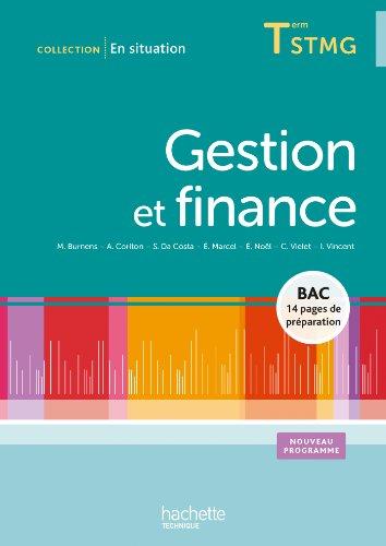 Gestion et finance Terminale STMG - Livre élève - Ed.2013
