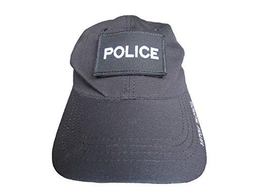 COVERT Police casquette/chapeau Noir