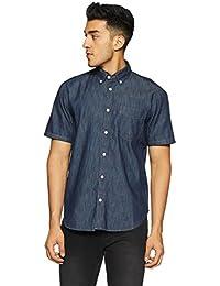 GAP Men's Solid Regular Fit Casual Shirt