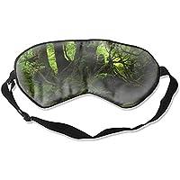 Schlafmaske, Premium-Qualität, Waldmoos Augenmaske, leicht, mit verstellbarem Riemen, blockiert das Licht komplett... preisvergleich bei billige-tabletten.eu