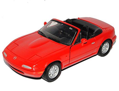 Mazda Mx5 Mx-5 1.generation Rot 1990 Na 1/24 Motormax Motor Max Modellauto Modell Auto