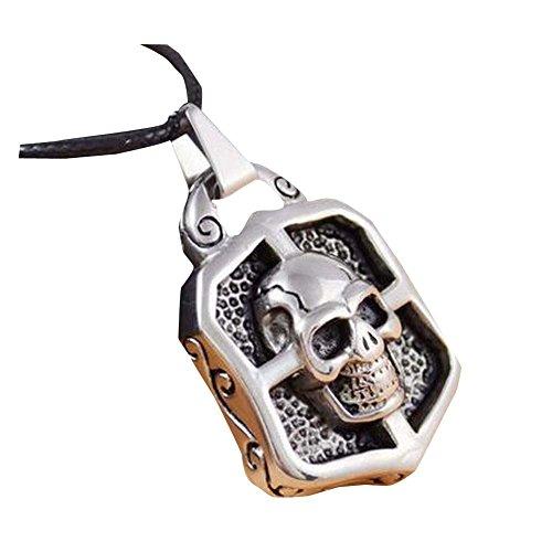 East Majik Herren Halskette mit Anhänger Titan Stahl-Ketten-Halskette