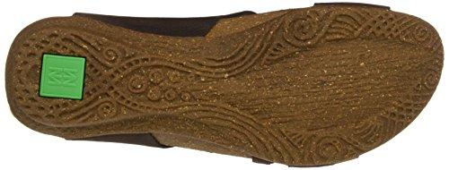 El Naturalista N5061 Pleasant Wakataua, Ouvrez Toe Femme Marron (Brown)