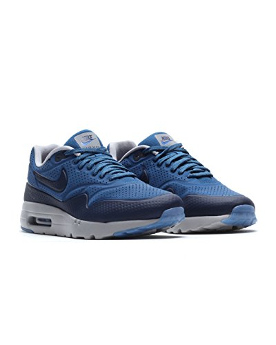 NikeAir Max 1 Ultra Moire - Sneaker bassa uomo bleu (Brgd Bl/Mid Nvy-Wlf Gry-Dstnc)
