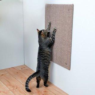 Trixie Aufhängbares Kratzbrett für Katzen, 50x 70cm, braun