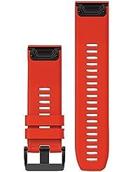 Garmin fenix 5x/3 - QuickFit 26mm rouge 2017 Accessoire cardiofrequencemetre