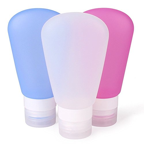 silicone-travel-bottles-set-refillable-cosmetic-containers-fan-shaped-squeezable-leakproof-reusable-