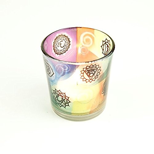 7-Chakras--Candle-Holder-for-Tea-Lights-and-Votive-Candles--Cute-Nails