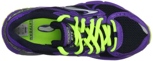 Brooks Adrenaline Gts G, Chaussures de running entrainement fille Violet - ElectricPurple/Nightlife/Obsidian/Silver