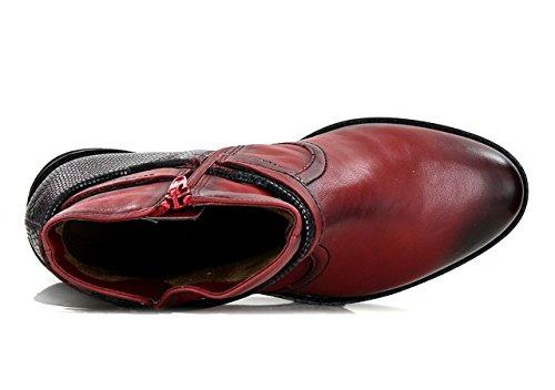 FUGITIVE IVEO - Bottines / Boots - Femme Rouge