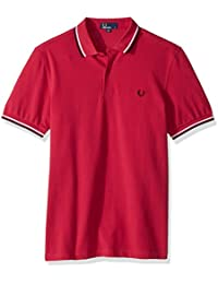 Fred Perry Twin Tipped Shirt Terracotta, Polo