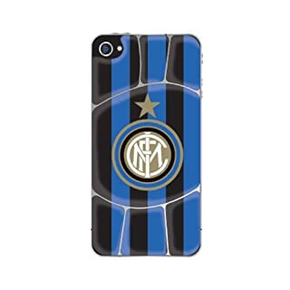 all4yourparty Inter Mailand FC Sticker Cover Rückseite iPhone Samsung Galaxy Mobile Handy, Farbe:Style 01