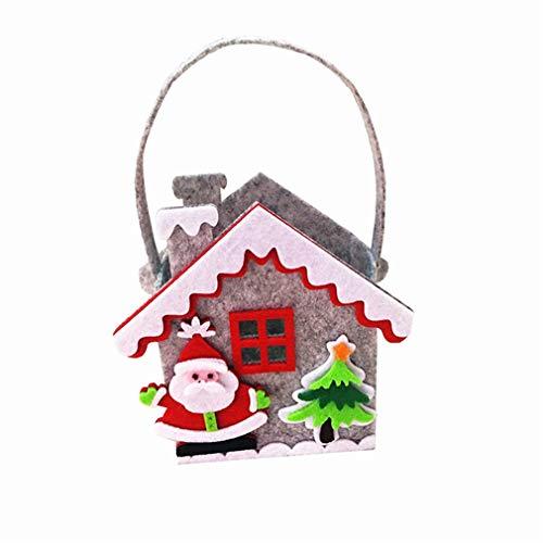 nn Pralinenschachtel Niedliche Kleine Haus Geschenktüte Ereignis Party Weihnachten Halloween Liefert, 2# ()