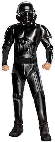 Shadow Trooper Deluxe Herrenkostüm aus Star Wars, Größe:M/L (Storm Shadow Kostüm)