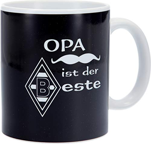 Borussia Mönchengladbach Tasse Kaffeebecher Opa ist der Beste VFL Und Ist Aus Keramik