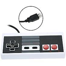 SATKIT Nintendo NES PC GamePad Controlador para PC de Windows USB