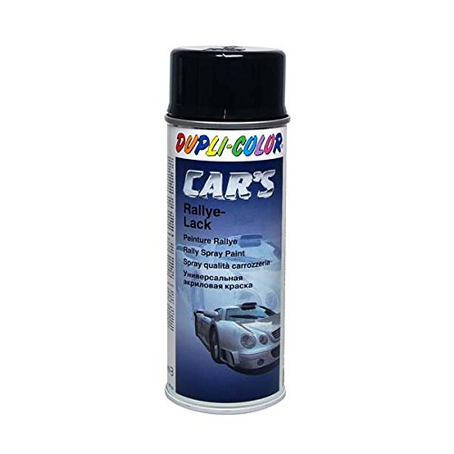 Duplicolor 385865 Spray de Pintura para Coches, Color Negro Brillante, 400 ml