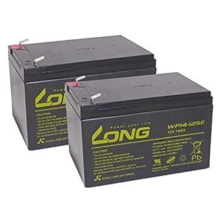 Akku kompatibel Alber E-Fix E20 E25 24V 2x 12V 14Ah AGM Blei Accu wartungsfrei
