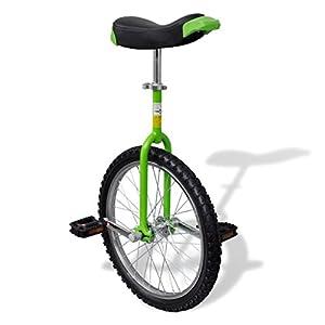 vidaXL Unicycle Fahrrad mit Schnellspanner Einrad 20 Zoll höhenverstellbar