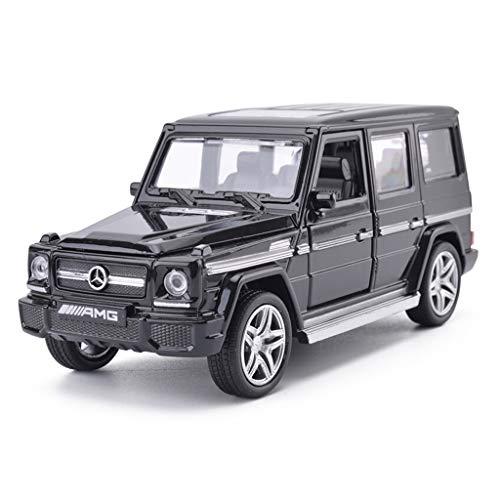 MXueei Modelo de Coche 1:32 Mercedes Benz AMG G65 SUV Simulación Alea