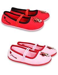 DisneyMinnieMouse Zapatillas de estar Por casa de Material Sintético Para Niña Rojo Rojo 31 EU