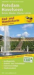 Potsdam - Havelseen, Ketzin - Warder - Kloster Lehnin: Rad- und Wanderkarte mit Ausflugszielen, Einkehr- & Freizeittipps, wetterfest, reissfest, ... 1:50000 (Rad- und Wanderkarte / RuWK)
