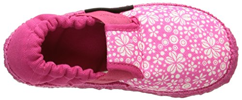 Giesswein Abentheuer, Chaussons courts, non doublées fille Rose (364 Himbeer)