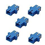 SIENOC fibra ottica SC-SC multimodale duplex fibra connettore / adattatore , Confezione da 5
