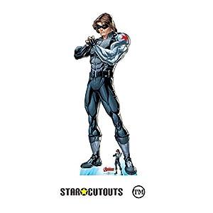 Star Cutouts SC1613 Ltd - Recorte de cartón de tamaño real para aficionados de Marvel, fiestas y eventos, 180 cm de alto x 70 cm de ancho, multicolor
