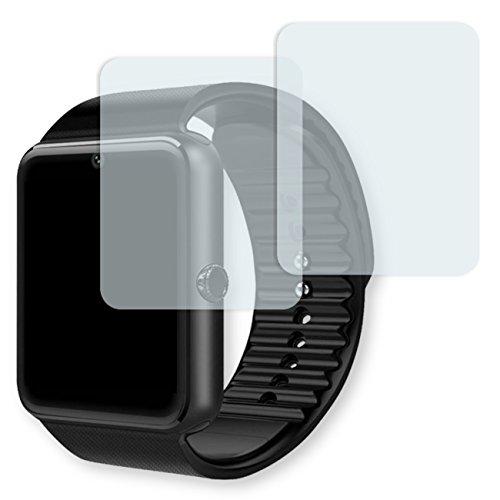 Yamay Bluetooth Smartwatch Displayschutzfolie - 2x Golebo Schutzfolie Folie