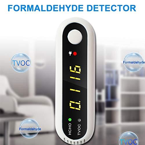 Domeilleur USB CO2 Kohlendioxid Luftqualität Monitor Datenlogger Messgerät LCD Detektor