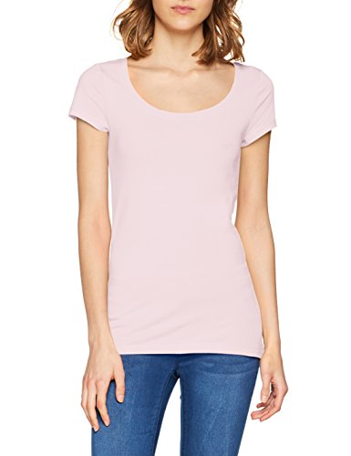 Q/S designed by - s.Oliver Damen T-Shirt 45.899.32.0472, Rosa (Purple/Pink 4100), Medium