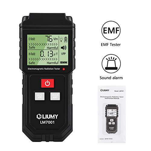 LIUMY 7001 Rivelatore di Radiazione Misuratore Digitale a Getto Hand Held dDesign con Retroilluminazione LCD Display