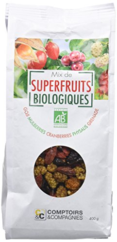 COMPTOIRS ET COMPAGNIES Mix de Superfruits Bio 400 g