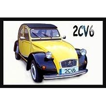 Citroën 2CV6 Jumbo imán para nevera