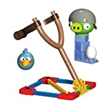 Angry Birds K'Nex Blauer Vogel vs Helmet Schwein [UK Import]