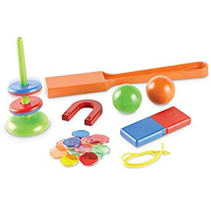 Learning Resources- Juego de magnetismo Magnet Movers Stem Explorers, Color (LER9295)