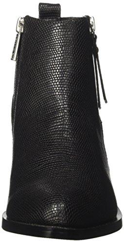 Gaudì Damen Tronchetto Zip-Belicia-Reptil Stiefeletten Nero (Black)