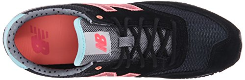 New Balance Women's CW620 Capsule Street Beat Classic Running Shoe Black/pink