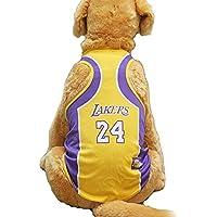 KayMayn Camiseta de fútbol con licencia para perro, incluye 6 tallas, diseño de perro de fútbol, para disfraz de perros, para uso al aire libre, deporte, verano, transpirable