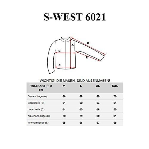 BOLF Strick Jacke Herrenpullover Streifen Hoodie Sweater Mix 1A1 Pulli Schwarz_6021