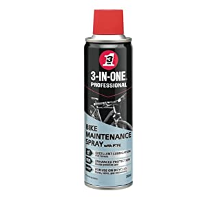 3-IN-ONE Bike Maintenance Spray, 250ml, Protects all parts of bike and chain, Contains protective layer