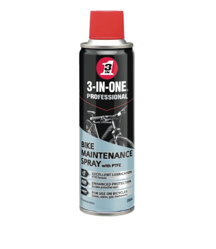 Price comparison product image 3-IN-ONE 250ml Bike Maintenance Spray