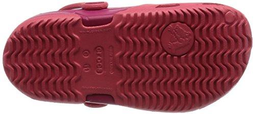 Crocs Electro Ii, Sabots - Mixte enfant Rouge (Coral/Raspberry)