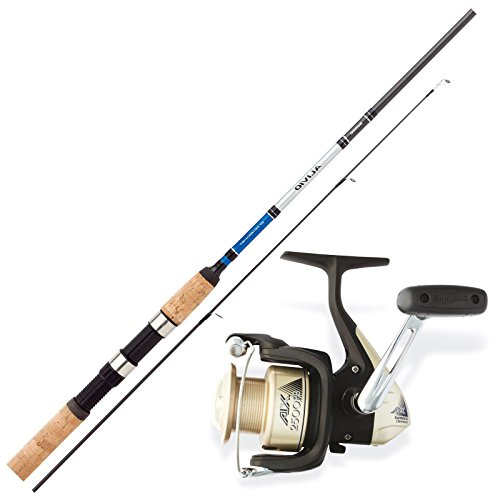 SHIMANO Allround Angelset Combo Angelrute & Angelrolle Set. Ferien Angeln NO1