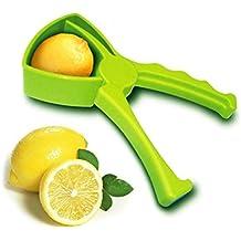 TAOtTAO - Exprimidor Manual Hecho a Mano, diseño de Gota de limón, Color Naranja