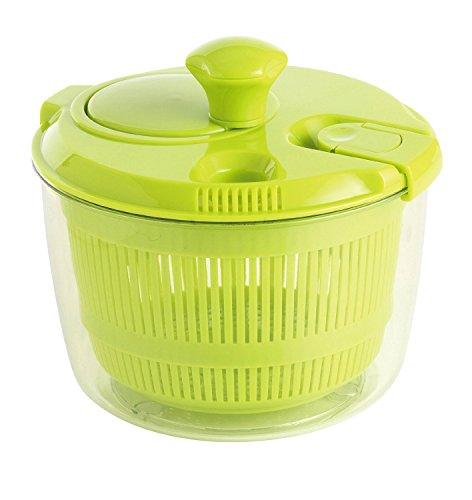 mastrad F31408 Essoreuse à Salade - Petite (diam. 20cm) - Vert, Plastique, 18 x 21 x 20 cm
