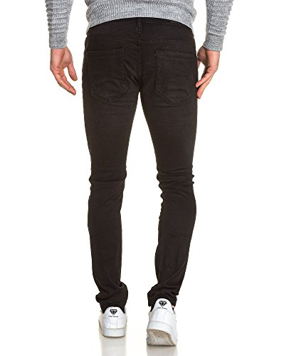 BLZ jeans - Jean schlanken schwarzen Mann verschanzt Schwarz
